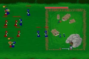 Флеш игра - Войны пешек