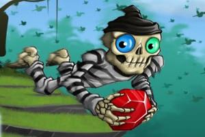 Игра Полет скелета