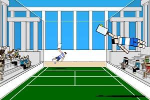 Игра Ragdoll теннис