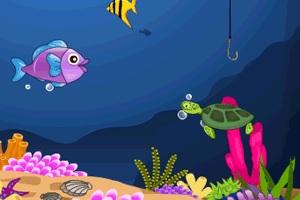 Игра Ловля рыбы под водой